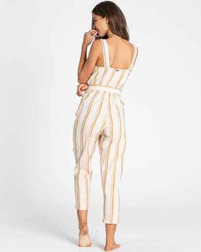 2 Light The Night Jumpsuit White JN03TBLI Billabong