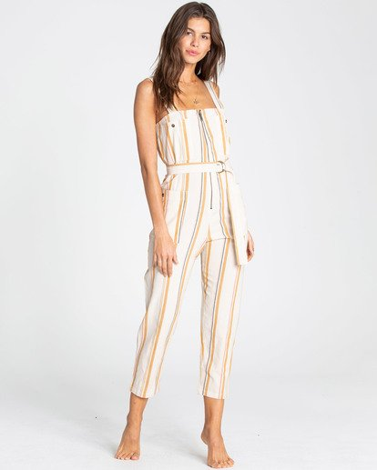 0 Light The Night Jumpsuit White JN03TBLI Billabong