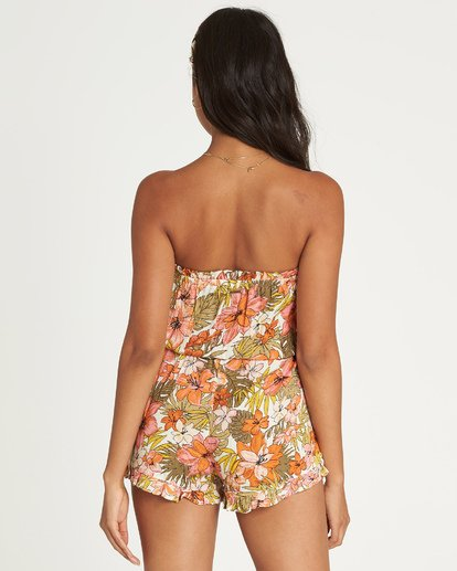 2 Flower Days Romper Black JN03UBFL Billabong