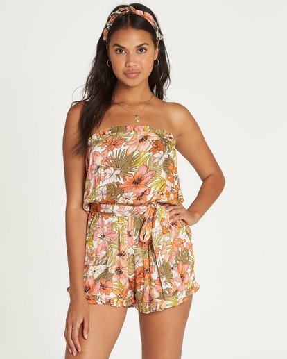 0 Flower Days Romper  JN03UBFL Billabong