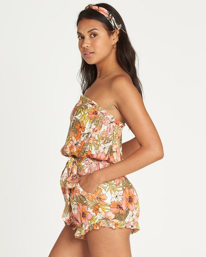 1 Flower Days Romper Black JN03UBFL Billabong