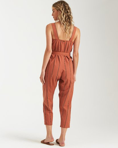 3 Light The Night Jumpsuit Brown JN03VBLI Billabong