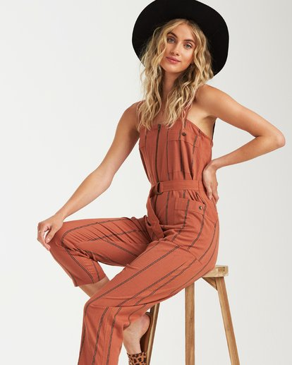 0 Light The Night Jumpsuit Brown JN03VBLI Billabong
