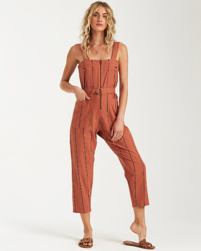 4 Light The Night Jumpsuit Brown JN03VBLI Billabong