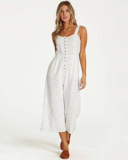1 Paint The Town Jumpsuit White JN03VBPA Billabong