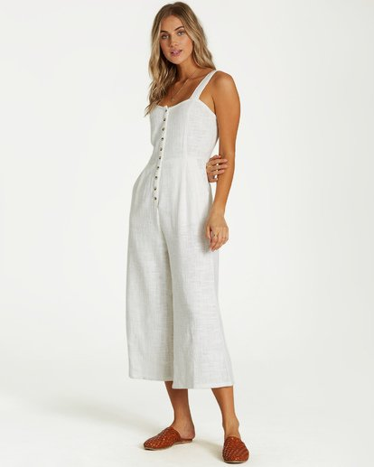 2 Paint The Town Jumpsuit White JN03VBPA Billabong
