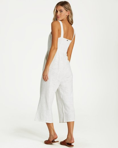 3 Paint The Town Jumpsuit White JN03VBPA Billabong