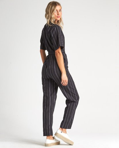 2 Hit The Highway Jumpsuit Black JN041BHI Billabong