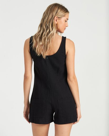 2 Lazy Waves Jumpsuit Black JN04NBLA Billabong