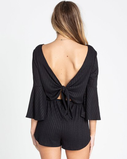 2 Day La Sol Romper Black JN06TBDA Billabong
