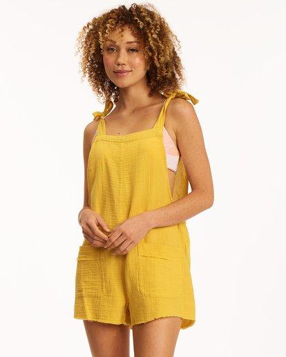 0 Girl On The Run Overall Yellow JN06UBGI Billabong
