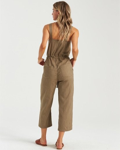1 Sandy Shores Overalls Green JN083BSA Billabong