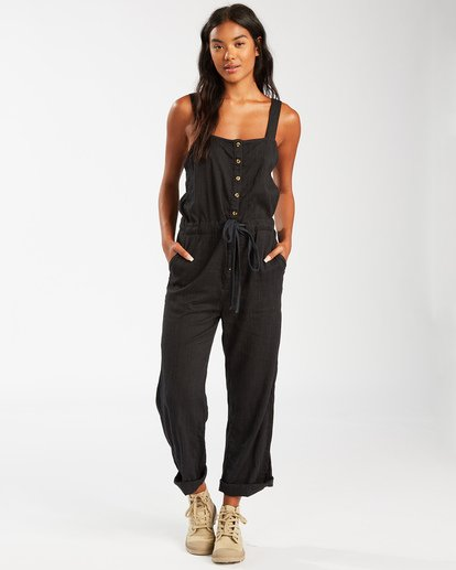 2 Sandy Shores Overalls Black JN083BSA Billabong