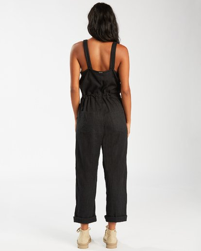 5 Sandy Shores Overalls Black JN083BSA Billabong
