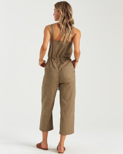 5 Sandy Shores Overalls Green JN083BSA Billabong