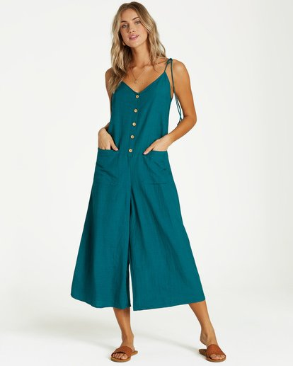 1 Tied Up Jumpsuit Blue JN08VBTI Billabong