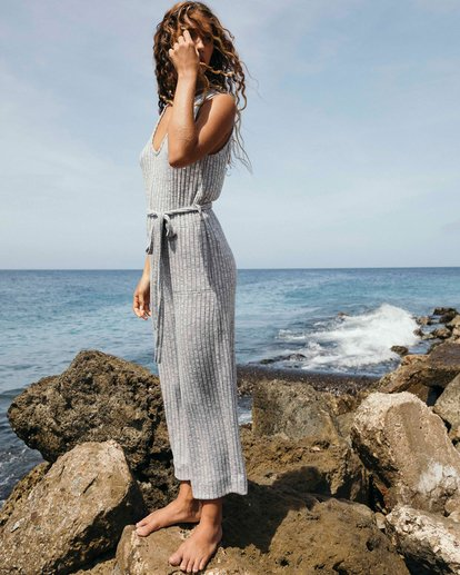 0 Wipe Out Jumpsuit Grey JN09VBWI Billabong