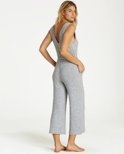 3 Wipe Out Jumpsuit Grey JN09VBWI Billabong