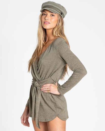 1 Perfect Time Romper Green JN11TBPE Billabong