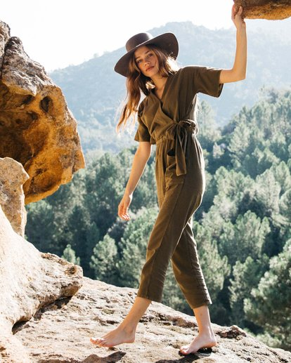 0 High Flyer Jumpsuit Green JN11VBHI Billabong