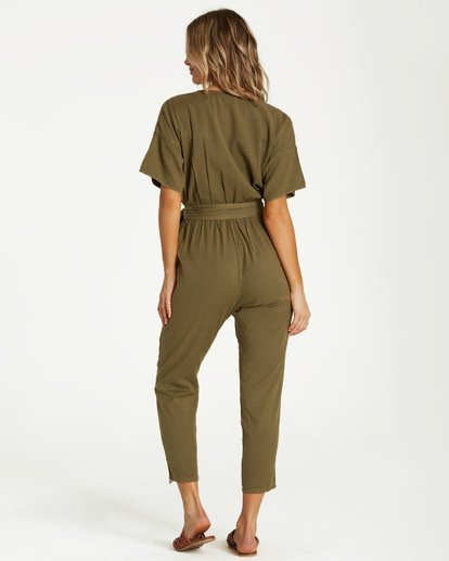 2 High Flyer Jumpsuit Green JN11VBHI Billabong