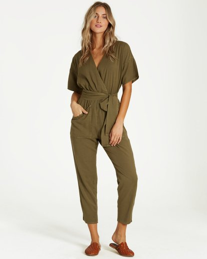1 High Flyer Jumpsuit Green JN11VBHI Billabong