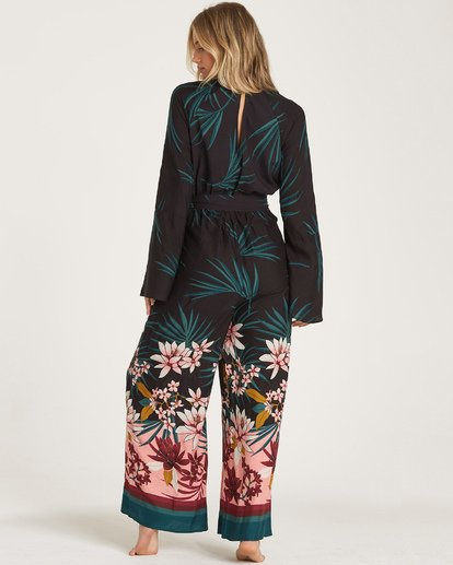 4 Born With It Jumpsuit Black JN11WBBO Billabong