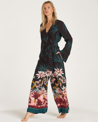 3 Born With It Jumpsuit Black JN11WBBO Billabong