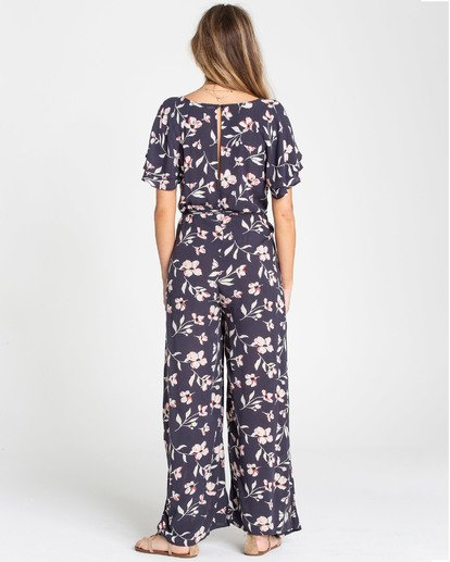 2 Fluttering Heart Jumpsuit Blue JN15TBFL Billabong