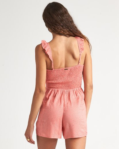 2 Flirty Free Jumpsuit Orange JN15WBFL Billabong