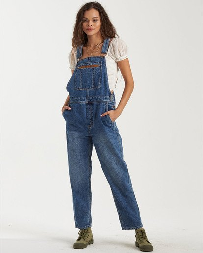 2 Basic Beach Overalls Green JN163BBA Billabong