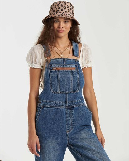 5 Basic Beach Overalls Green JN163BBA Billabong