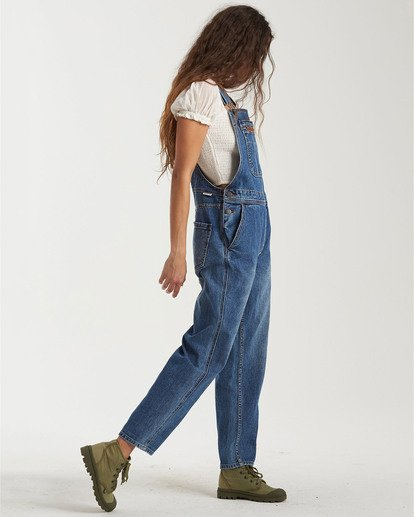 3 Basic Beach Overalls Green JN163BBA Billabong