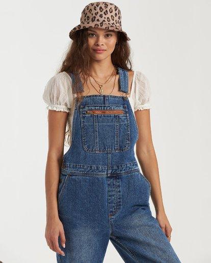9 Basic Beach Overalls Green JN163BBA Billabong