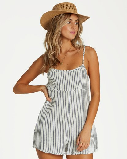 4 Oh Hey Romper Blue JN16VBOH Billabong
