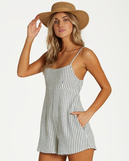 2 Oh Hey Romper Blue JN16VBOH Billabong