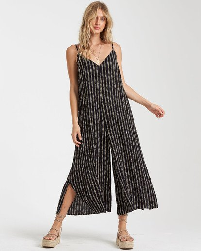 3 Shake It Again Jumpsuit Black JN17TBSH Billabong