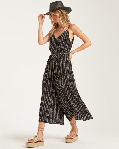 1 Shake It Again Jumpsuit Black JN17TBSH Billabong
