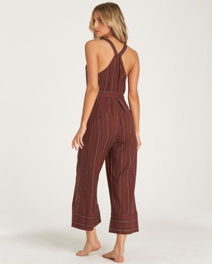2 Bella Day Jumpsuit Purple JN17WBBE Billabong