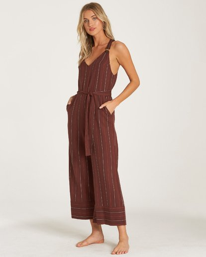 1 Bella Day Jumpsuit Purple JN17WBBE Billabong
