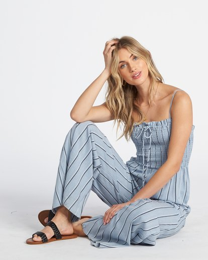 5 Forever Fields Jumpsuit Blue JN181BFO Billabong