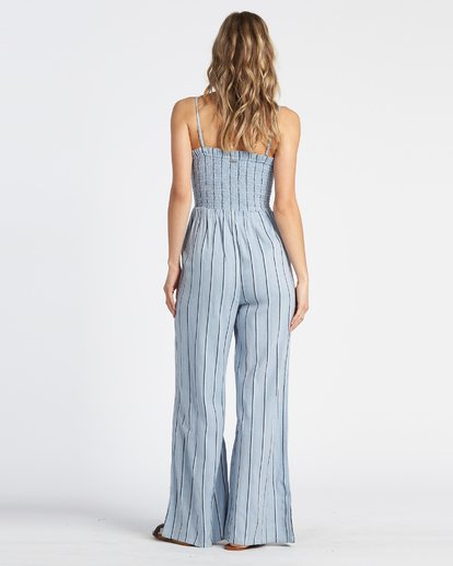 2 Forever Fields Jumpsuit Blue JN181BFO Billabong
