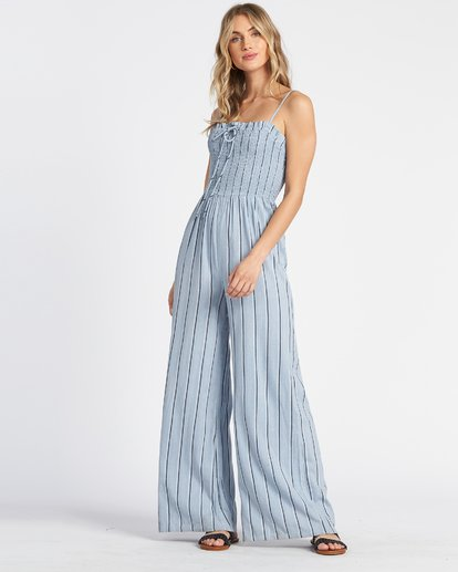 3 Forever Fields Jumpsuit Blue JN181BFO Billabong