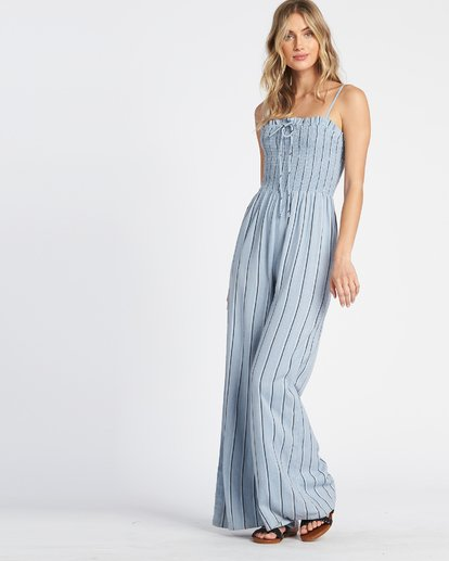 1 Forever Fields Jumpsuit Blue JN181BFO Billabong