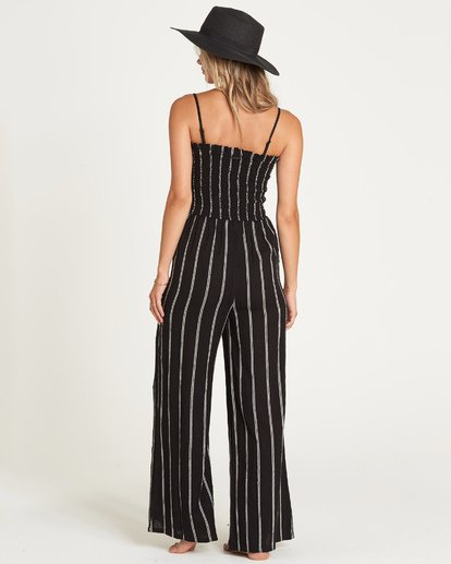 2 Forever Fields Jumpsuit Black JN18UBFO Billabong