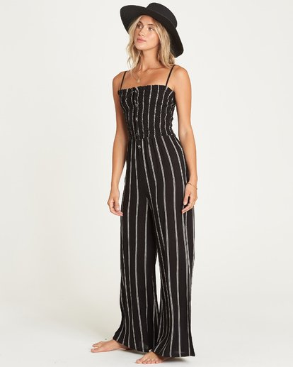 1 Forever Fields Jumpsuit Black JN18UBFO Billabong
