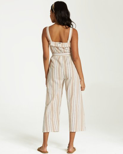 3 Sandy Toes Jumpsuit White JN18VBSA Billabong