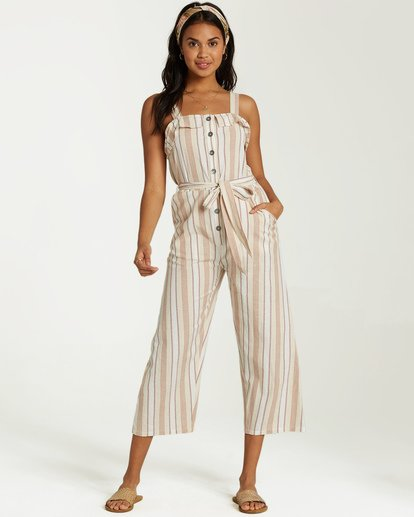 1 Sandy Toes Jumpsuit White JN18VBSA Billabong
