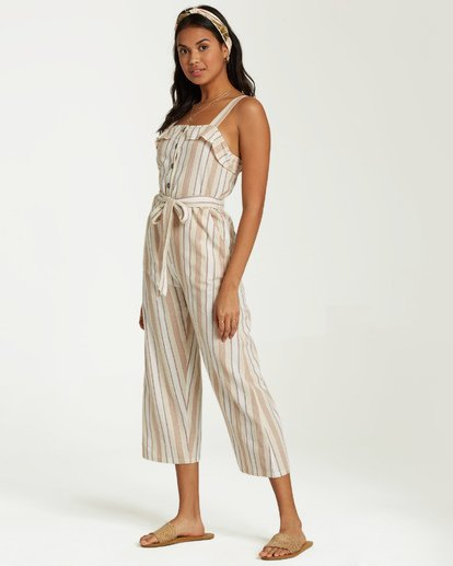 2 Sandy Toes Jumpsuit White JN18VBSA Billabong