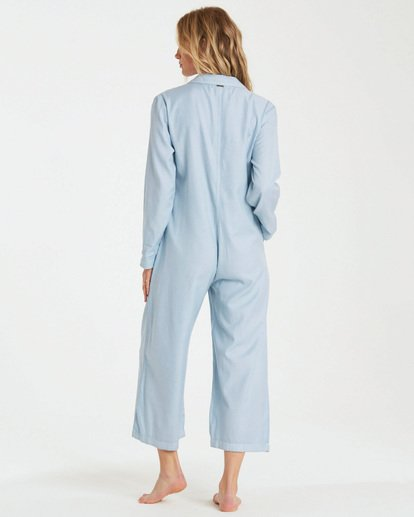 3 Work At It Jumpsuit Blue JN18WBWO Billabong